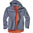 FREE SHIPPING - Gravel Gear Men's Waterproof Breathable Midweight Rain Jacket - Midnight, Large The price is $99.99.