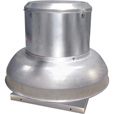 Canarm Direct Drive Downblast Spun Aluminum Exhauster — 13.5in., 3/4 HP, Model# ALX135-DD075EC