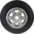 FREE SHIPPING — Carlisle Radial HD Trailer Tire and Intruder Aluminum Wheel Assembly — ST235/80R16 LRE The price is $219.99.