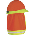 ML Kishigo High Visibility Hard Hat Sun Shield —Orange, One Size Fits Most Hard Hats The price is $6.39.