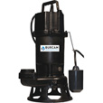BurCam Grinder Pump — 2575 GPH, 1 HP, 2in. Ports, Model# 400701P
