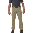 FREE SHIPPING - Gravel Gear Men's Flex Wear 10-Oz. Brushed Twill Work Pants with Teflon Fabric Protector - Khaki, 38in. Waist x 34in. Inseam The price is $29.99.
