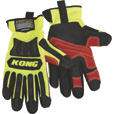 Ironclad KONG Men's High Visibility Rigger Impact Gloves — Lime, Medium The price is $14.99.