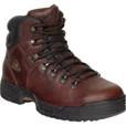 Rocky Men's Mobilite Waterproof Steel Toe EH Work Boots - Dark Brown, Size 11 1/2 Wide, Model# 6114 The price is $134.99.