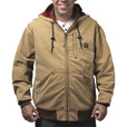 Walls Weathered 10-Oz. Duck Hooded Jacket — Washed Pecan, XL, Model# YJ339WPC9 The price is $109.99.