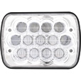 Trux Accessories 7in. x 5in. High/Low Beam LED Headlight — Chrome, Model# TLED-H52 The price is $59.99.