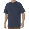 Dickies Jersey Cotton Short Sleeve Heavyweight Crew T-Shirt — Dark Navy, Large, Model# WS450DN The price is $9.99.