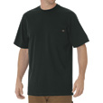 Dickies Jersey Cotton Short Sleeve Heavyweight Crew T-Shirt — Hunter Green, 2XL, Model# WS450GH The price is $9.99.