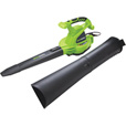 GreenWorks Electric Blower/Vac — 12 Amp, 380 CFM, Model# 24072 The price is $59.99.