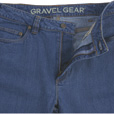 Gravel Gear Men's Flex Wear 12-Oz. Denim 5-Pocket Work Jeans - Light Wash, Size 38 x 30 The price is $29.99.