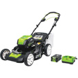 GreenWorks Self-Propelled Push Lawn Mower — 80 Volt Brushless Motor, 21in. Deck, Model# MO80L510