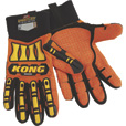 KONG Original Oil and Gas High Visibility Impact-Resistant Gloves — Orange, XL The price is $7.99.