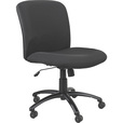 Mayline Safco Uber Big and Tall Mid Back Chair — Black, Model# 3491BL The price is $293.99.