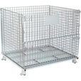 Tekrite Collapsible Wire Container — 48in.L x 40in.W x 42in.H, 4000-Lb. Capacity The price is $179.99.