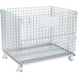 Tekrite Foldable Wire Mesh Basket — 4000-Lb. Capacity, 40in.L x 32in.W x 34in.H The price is $139.99.