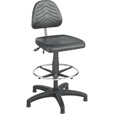 Safco Task Master Deluxe Workbench Chair — 25in. Dia. x 36-44in.H, Black, Model# 5113 The price is $399.99.