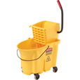 Rubbermaid WaveBrake Mopping System — 35-Quart Capacity, Model# FG758088YEL The price is $74.99.