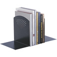 Mayline Safco Jumbo Bookends — Black, 1 Pair, Model# 3115BL The price is $19.99.