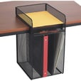 Mayline Safco Onyx Vertical Hanging Storage Desktop Organizer — Black, Model# 3241BL The price is $34.99.