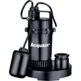 Acquaer Submersible Sump Pump — 2920 GPH, 1/3 HP, Model# SUP033-2 The price is $69.99.