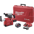 FREE SHIPPING — Milwaukee Fuel 1 1/8in. SDS Plus Rotary Hammer Tool Kit — With 2 Batteries, 18 Volts, Model# 2715-22E The price is $649.00.