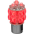 Trux Accessories 1157 Square Stop/Tail Function LED Twist-In Light Bulb — 13 Diodes, Red, Model# TB-S1157R