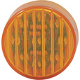 Trux Accessories Ribbed LED Marker Light — 2 1/2in. Round, 13 Diodes, Amber, Model# TLED-2HA The price is $4.99.