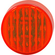 Trux Accessories Ribbed LED Marker Light — 2 1/2in. Round, 13 Diodes, Red, Model# TLED-2HR The price is $4.99.