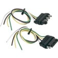 Hopkins Towing Solutions 4-Wire Flat Trailer Wiring Connector Set — 12in. Vehicle End, 12in. Trailer End, Model# 48175 The price is $3.99.