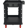 Suncast Commercial Heavy-Duty Plus Utility Cart — Black, 48.78in.L x 26.5in.W, Model# PUCHD2645 The price is $189.99.
