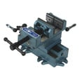 Wilton Cross Slide Drill Press Vise — 4in. Jaw Length, Model# CS4 The price is $169.00.