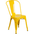 Flash Furniture Metal Stackable Chair — Yellow, Model# CH31230YL The price is $51.99.