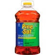 Pine-Sol Multi-Surface Cleaner — 3-Pack of 144-Oz. Bottles, Model# 35418 The price is $42.99.