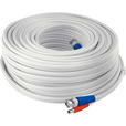 Swann Communications Fire-Rated BNC Cable — White, 50ft., Compatible with 960H/AHD/TV1, Model# SWPRO-15MTVF-GL The price is $29.99.
