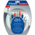 Swann Communications Fire-Rated TVI Extension Cable — White, 100ft., Model# SWPRO-30MTVI-GL The price is $34.99.