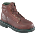 Florsheim Men's 6in. Steel Toe Work Boots - Black Walnut, Size 11 Extra Wide, Model# FE665 The price is $119.99.