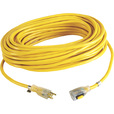 Cerrowire Locking Extension Cord — 100ft.L, 12Ga., 15 Amps, 125 Volts, Model# 630-36037CR The price is $70.00.