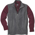 FREE SHIPPING — Gravel Gear Zip-Up Fleece Vest — Charcoal, XL The price is $27.99.