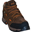 McRae Men's 5in. Industrial Work Hiker Boots with Metatarsal Guards and Composite Toes - Brown/Orange, Size 14, Model# MR83701 The price is $88.00.