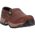 McRae Men's Composite Toe Met Guard EH Slip-On Work Shoes - Mesquite Brown, Size 8 1/2, Model# MR81704 The price is $92.00.