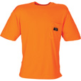 Walls High-Visibility Wicking T-Shirt — Orange, Model# 56195