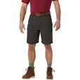 FREE SHIPPING - Gravel Gear Men's Flex Wear 10in. Canvas Carpenter Work Shorts with Teflon - Mushroom, 36 Waist The price is $19.99.