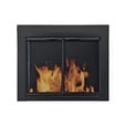 Alpine Fireplace Glass Door — For Masonry Fireplaces, Small, Black, Model# AN-1010 The price is $229.99.