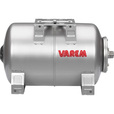 Varem Pre-Charged Horizontal Pressure Tank — 5.3 Gal., 120 PSI, Stainless Steel, Model# V2H0760S40BP000 The price is $199.99.