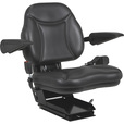 A & I Products Big Boy Suspension Tractor Seat — Black, Model# BBS108BL The price is $299.99.