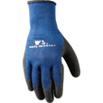 Wells Lamont Men's Latex-Coated Gloves - Blue/Black, Small, Model# 524 The price is $3.99.