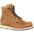 Georgia Men's 6in. Wedge Moc Toe Work Boots — Saddle Town, Size 10 1/2, Model# GB00171 The price is $99.99.