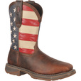 Durango Men's Rebel 11in. American Flag Steel Toe Western Work Boots - American Flag, Size 9 1/2 Wide, Model# DB020 The price is $154.99.
