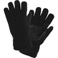 FREE SHIPPING — Gravel Gear Men's Fleece Gloves — Black