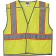 FREE SHIPPING — Gravel Gear Men's Class 2 High Visibility Breakaway Vest — Lime, Size Small/Medium The price is $11.99.